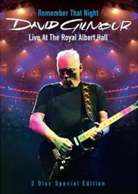 Cover David Gilmour - Remember That Night - Live At The Royal Albert Hall [DVD]